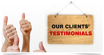 Our Clients Testimonials - SNV party lights