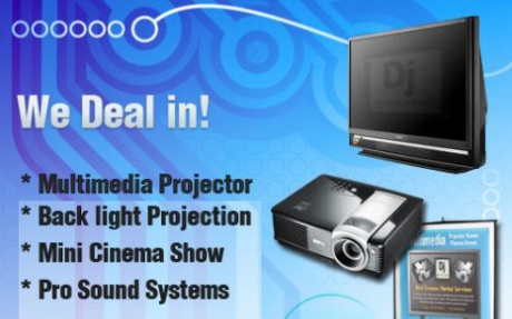 Multimedia Projector Renting Services Colombo