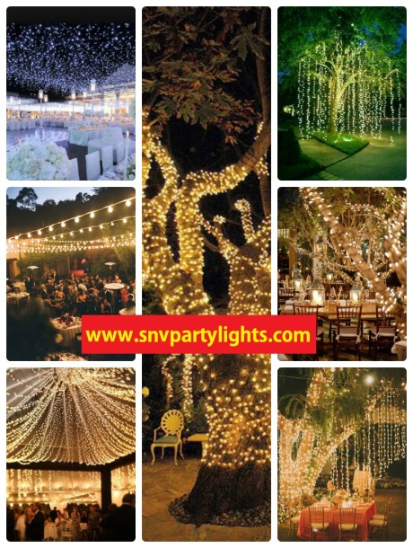 Outdoor Lighting Design Ideas - SnV Party Lights