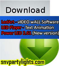 Free Download LedArt Software Tutorial and Manuals