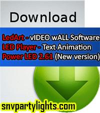 Free Download LedArt Software Tutorial and Manuals